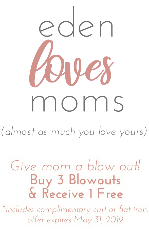 eden loves moms blow out special